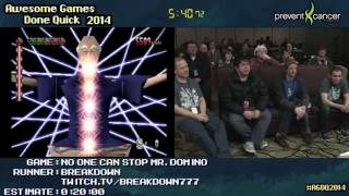 AGDQ 2014 - No One Can Stop Mr. Domino