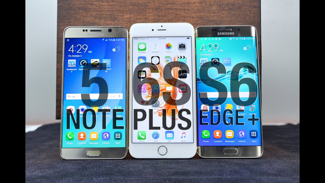 Best smartphone cameras galaxy note 7 vs iphone 6s plus galaxy s7 - Iphone 6s Plus Vs Samsung Galaxy Note 5 S6 Edge Plus Full Comparison Youtube