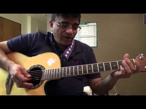 Yeh Jeevan Hai (M:Laxmikant Pyarelal, S: Kishore Kumar) guitar chords and strumming lesson by Suresh