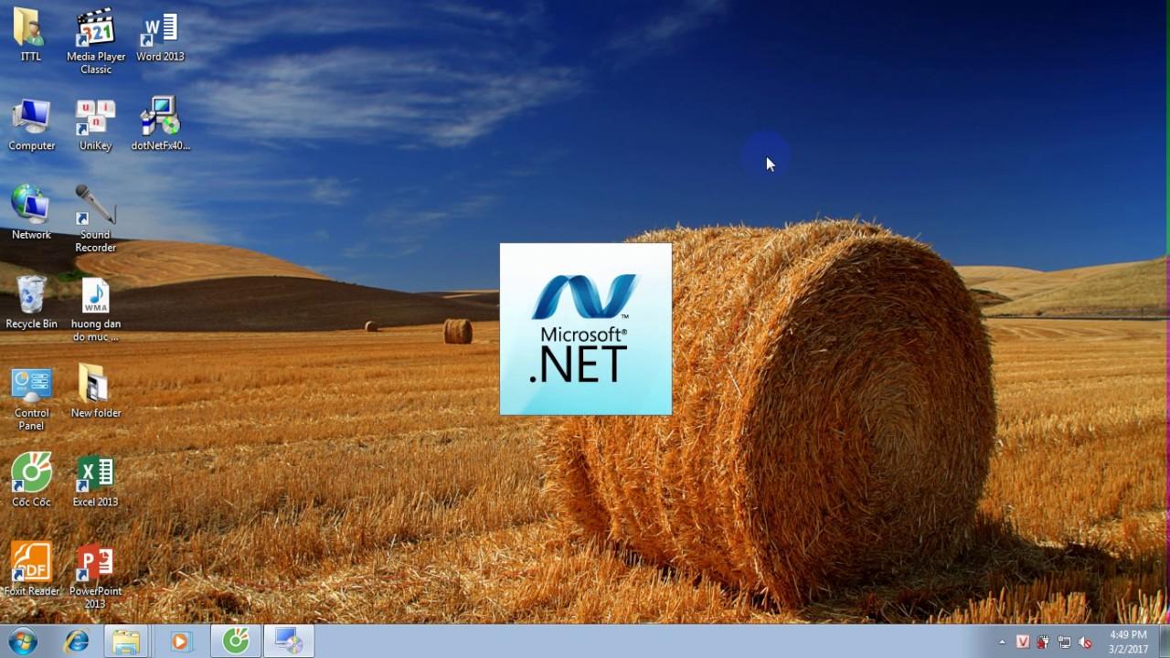 Hướng dẫn cách cài đặt .Net Framework 4.0 nhanh