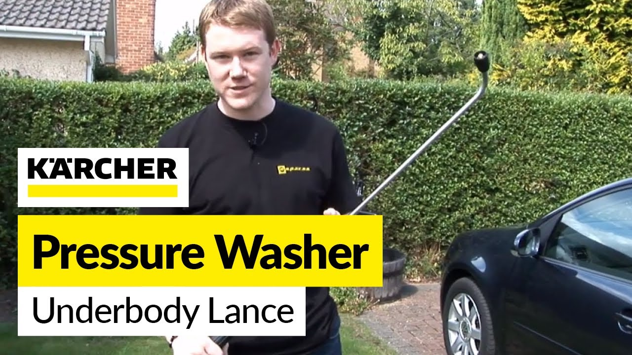 For Karcher K Series Pressure Washer Angled Spray Lance Underbody Cleaning