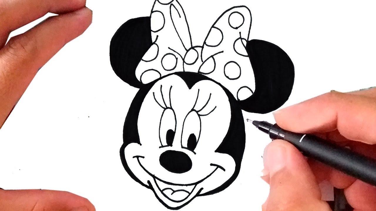 Como Desenhar A Minnie Mouse Mickey Mouse Youtube