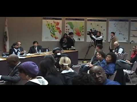 BART Mtg: Oakland City Council Desley Brooks v. BART Board