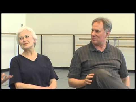 Balanchine Foundation Interview: Violette Verdy and Jean-Pierre Bonnefoux LIEBESLIEDER WALZER