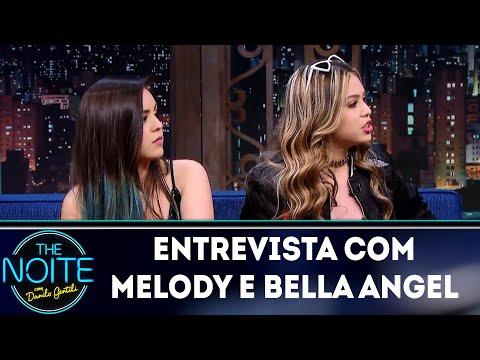 Entrevista com Melody e Bella Angel | The Noite (04/07/18)