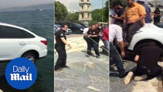 Locals save tourist