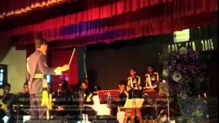 Saree ke fall Sa By Sri Sumangala College Senior Brass Band,Panadura