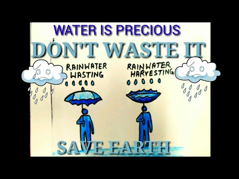 Drawing poster of save water harvest rain water easy to learn drawing poster of save water harvest rain water easy to learn altavistaventures Gallery