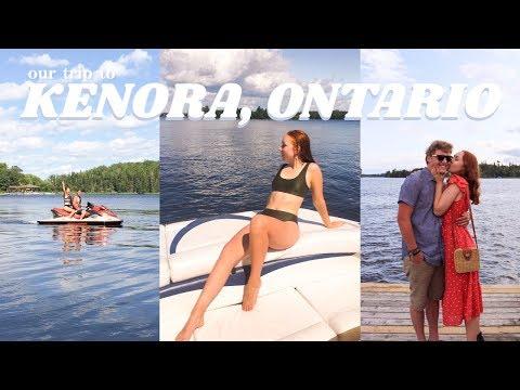 Our Trip To Kenora, Ontario!