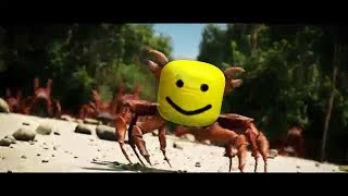 Crab Rave roblox oof remix