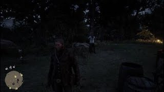 Red Dead Redemption 2 | eating in front of Kieran Video