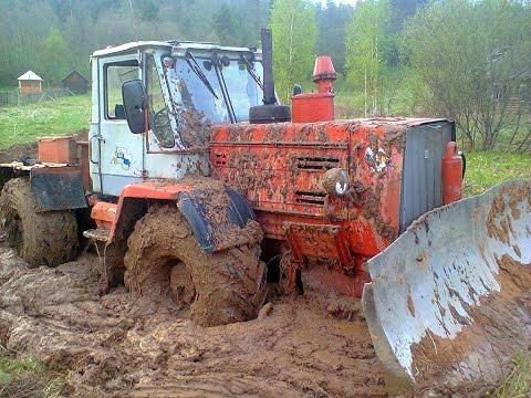 Тракторы на бездорожье—МТЗ-82
