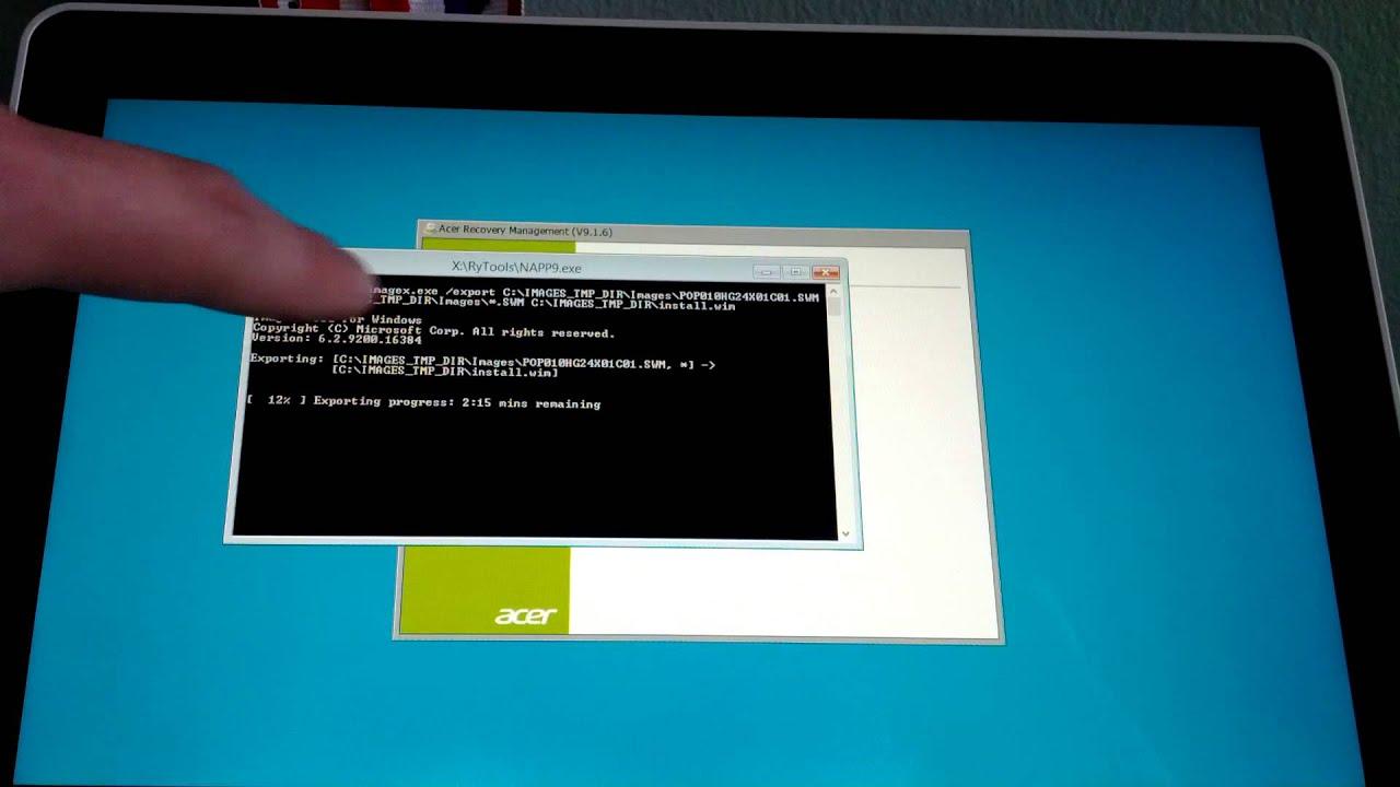 Драйвер Acer W511 Windows 10