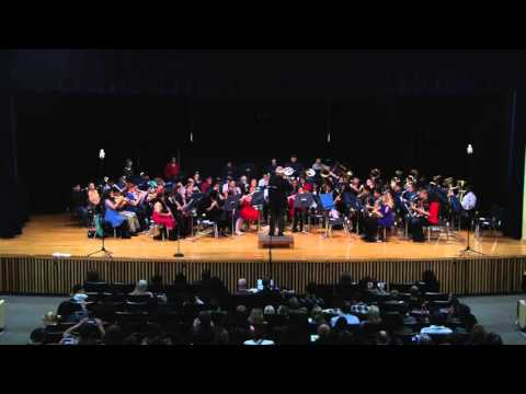 Pine Tree Middle School Blue Band - Jingle Bells