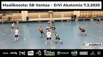 Maalikooste: SB Vantaa – EräViikingit Akatemia 7.3.2020 #GAME1