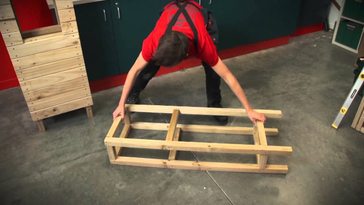 Bunnings D.I.Y Hints and Tips - How To Make A Letterbox ...