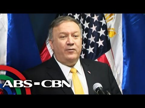 US Sec. of State Pompeo, DFA Sec. Locsin in joint press conference   1 March 2019