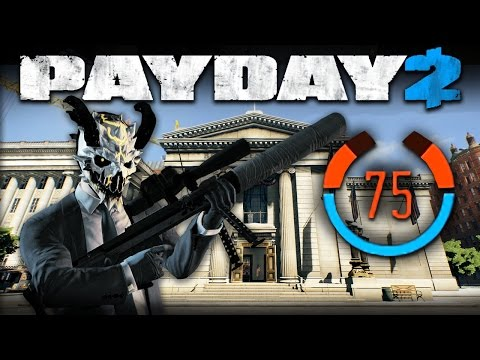 Payday 2 - One Down Solo Stealth - 75 Detection Risk - #9 Big Bank