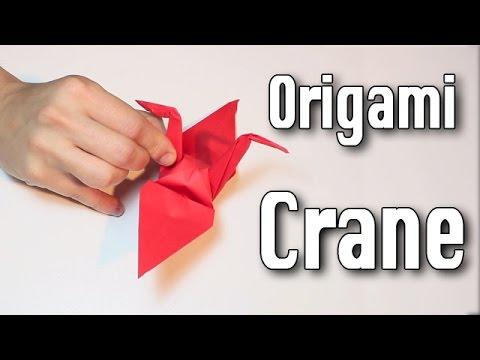 Origami Crane tutorial (Easy)