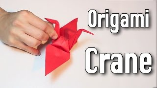 Origami Crane tutorial (Easy)