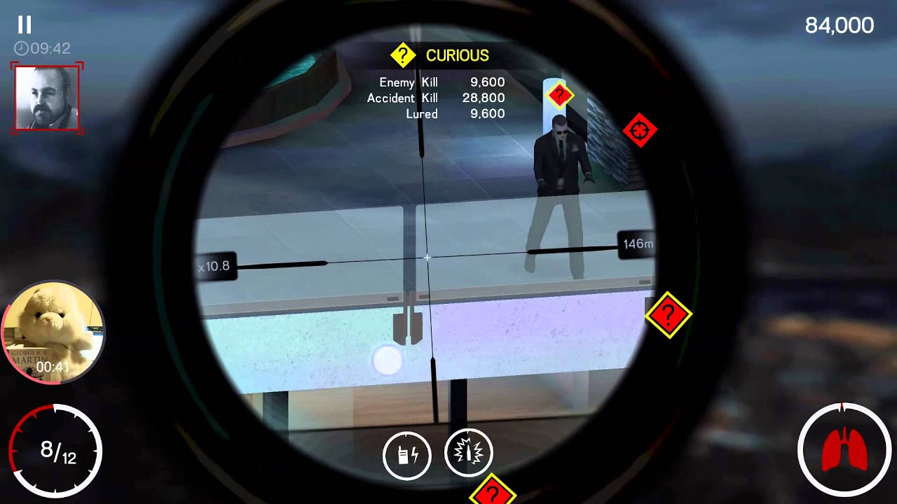 maxresdefault hitman sniper 4 accident kill �n under 20 sec android s6 edge Hitman Sniper Rifle at edmiracle.co