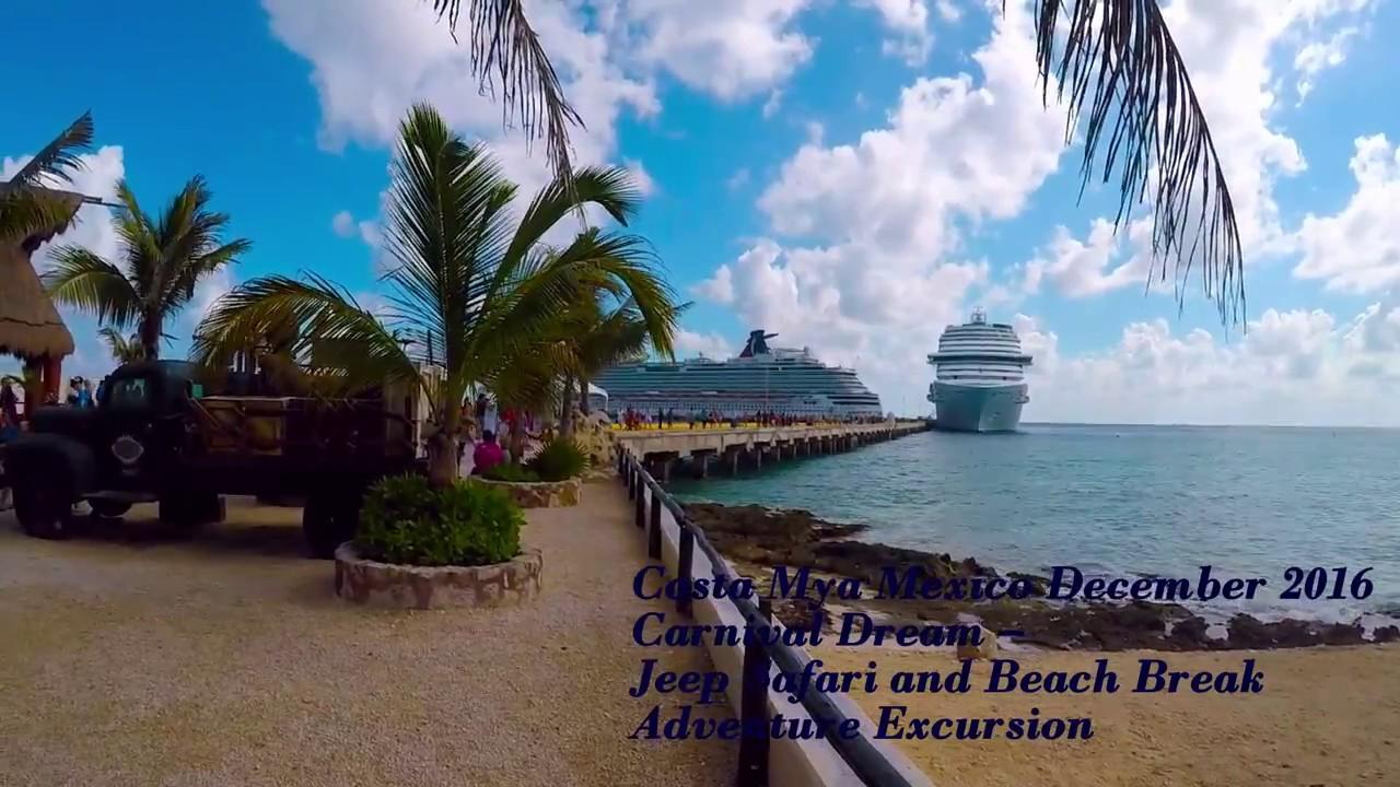 Costa Maya Jeep Safari And Beach Break Adventure Excursion