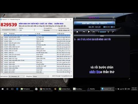 Hướng dẫn cài đặt phần mềm Karaoke trên máy tính