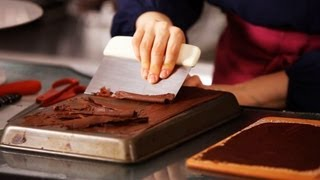 How To Make Chocolate Curls | Cake Decorating