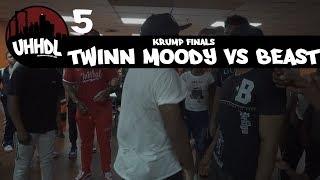 Twinn Moody vs Beast | Krump Finals | Underground Hip Hop Dance League #UHHDL