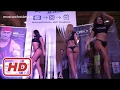 Sexy Hot Beautiful Russian Models Girls Dancing at a Moscow Show
