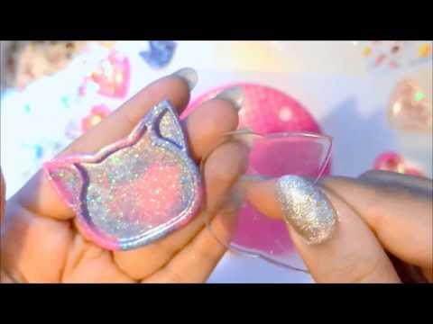Kitty cat dry shaker charm tutorial ✨