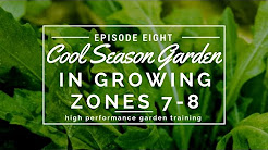 How to Grow a Cool Season Garden in Zones 7 and 8