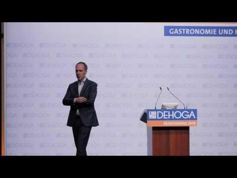 DEHOGA-Branchentag 2016: Vortrag Christoph Keese, Executive President Axel Springer SE