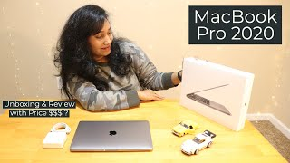 """Apple's New MacBook Pro 13"""" 2020 with Price   Unboxing Birthday Gift   LaptopCase & Review in Telugu"""