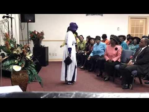 Evangelist Joan Garrick At Pentecostal Tabernacle WPB Women's Conference 2014 Pt2