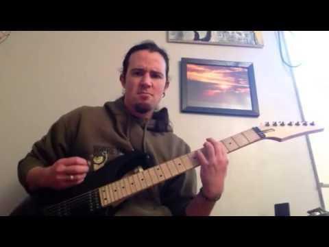 Meshuggah Neurotica Chaosphere guitar cover! Dimarzio Blaze DP702 Boosted EVH 5150 III