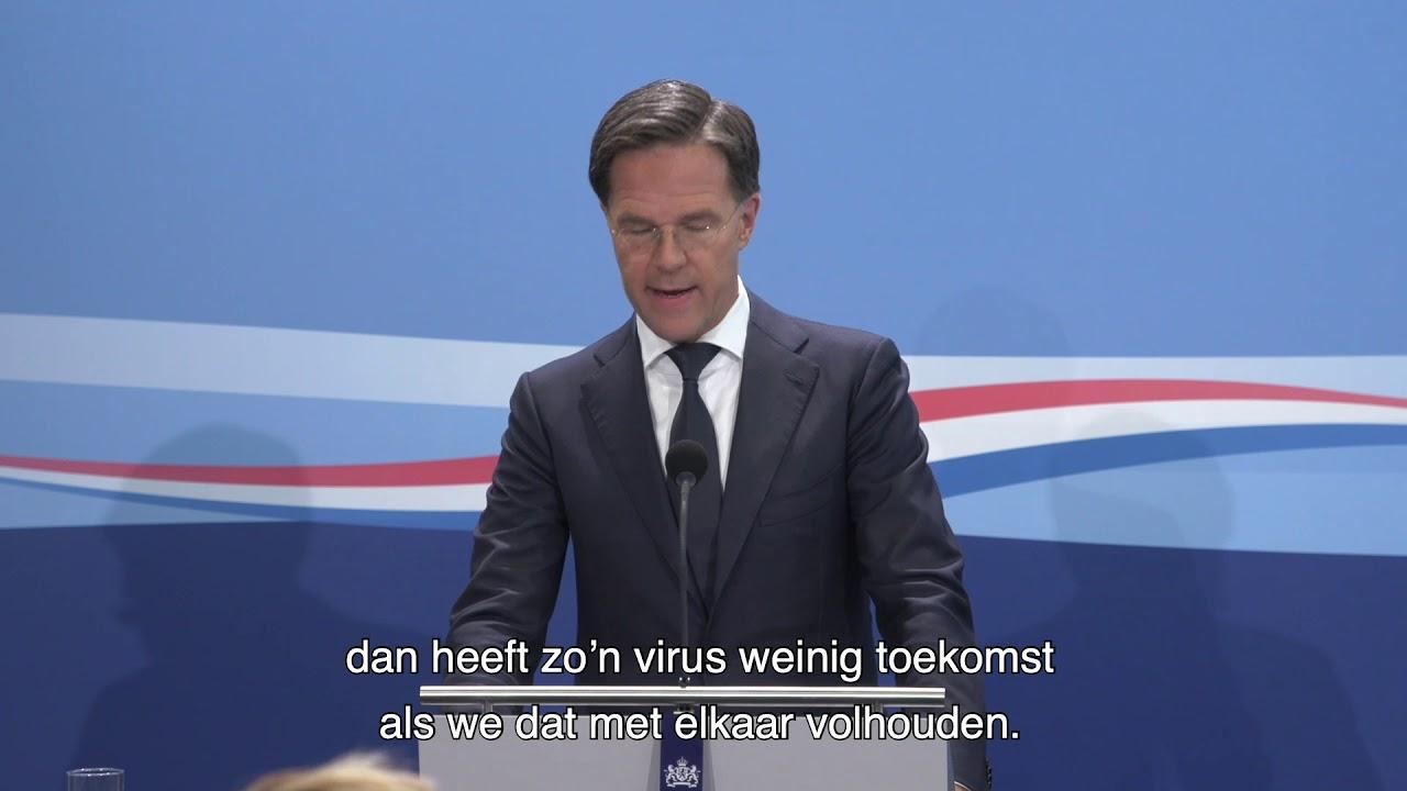 Statement MP Rutte van 3 juli 2020
