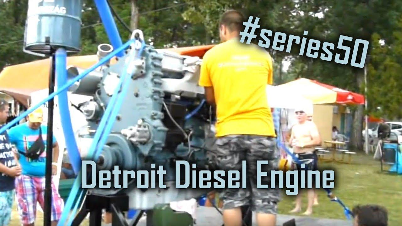 Detroit Diesel Series 53 Operator's Manual #6SE337 SERVICE PARTS BOOK