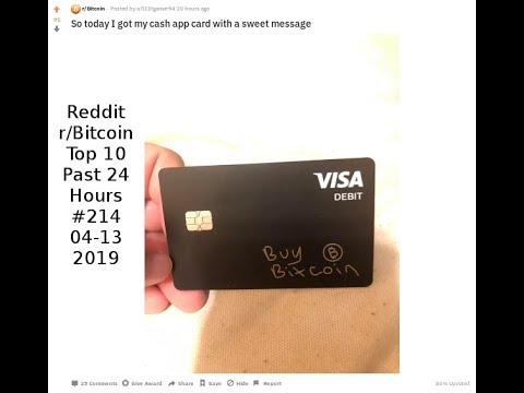 So today I got my cash app card with a sweet message (r/Bitcoin #214)