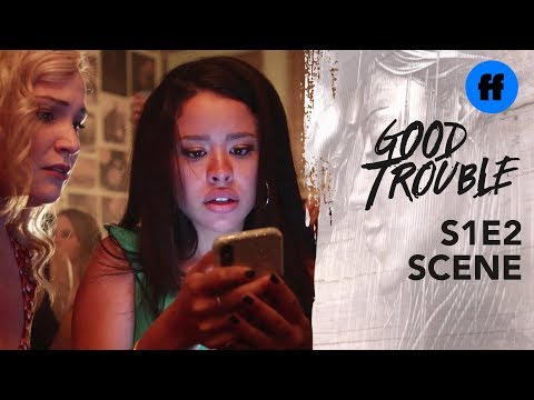 Good Trouble Season 1, Episode 2 | Mariana Disses Her Boss | Freeform