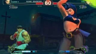Super Street Fighter 4 - Gameplay Video 3