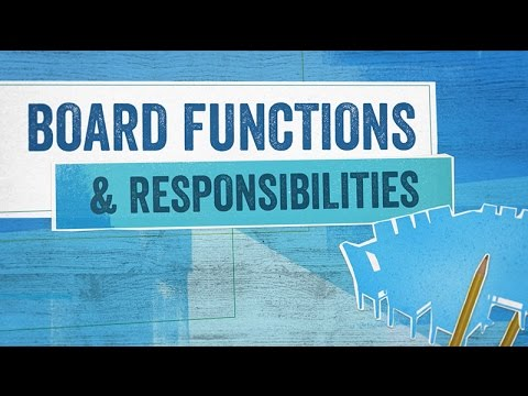 Startup Boards: Board Functions and Responsibilities