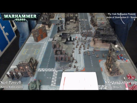 Warhammer 40,000 - Seeds of Destruction II - Day Two (Part Two) - 24/09/17 - Firestorm Games Cardiff