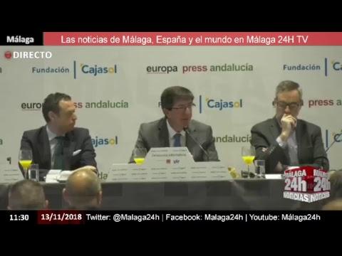 Directo - Presentación del candidato de Ciudadanos Juan Marín