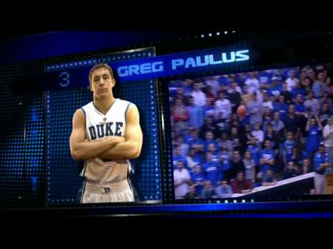 2008-09 Duke Video Roster