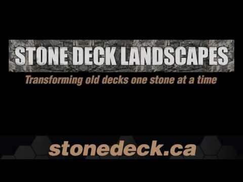 Transform a Wood Deck to a Stone Deck