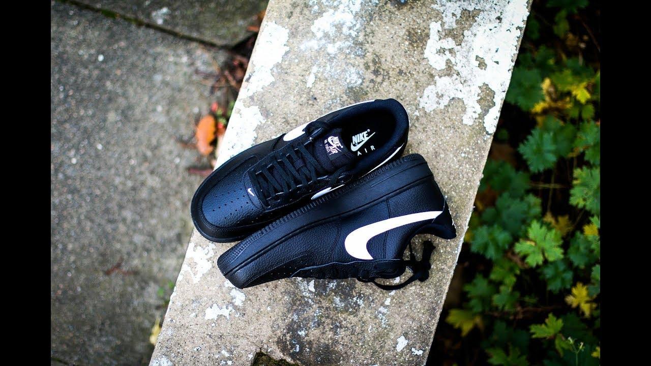best sneakers 62aa0 02e79 QuickSchopes 026 - Nike Air Force 1 Black Sail - Schopes