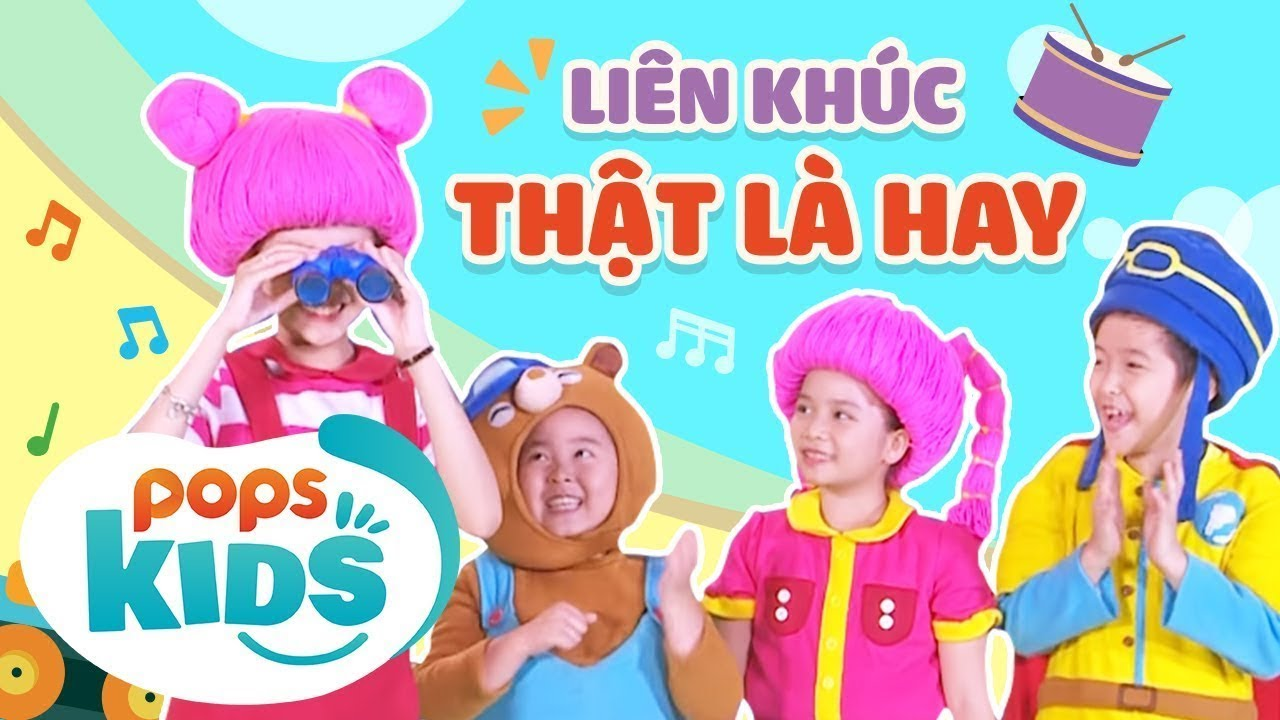 Mầm Chồi Lá - Liên Khúc Thật Là Hay - Nhạc Thiếu Nhi Sôi Động |Vietnamese Kids Song