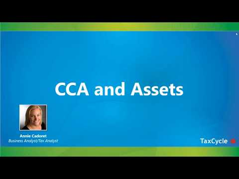 CCA And Assets - Webinar From March 21, 2018