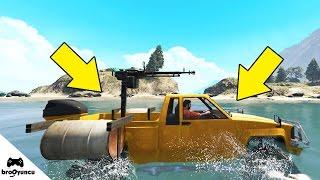SUDA GİDEN ARABALAR 😱 GTA 5 ONLİNE DLC